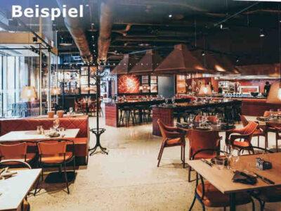 Restaurant kaufen (Schweiz) - Beispiel